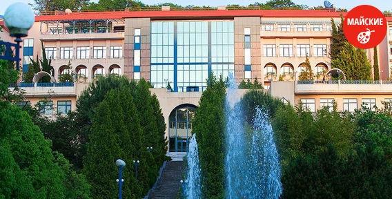 Отдых с санаторно-курортным оздоровлением на побережье Чёрного моря. Скидка до 47%!
