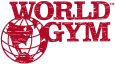 World gym, логотип
