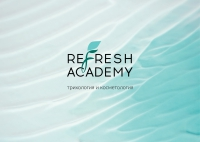 Refresh academy, логотип
