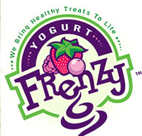 Yogurt frenzy, логотип